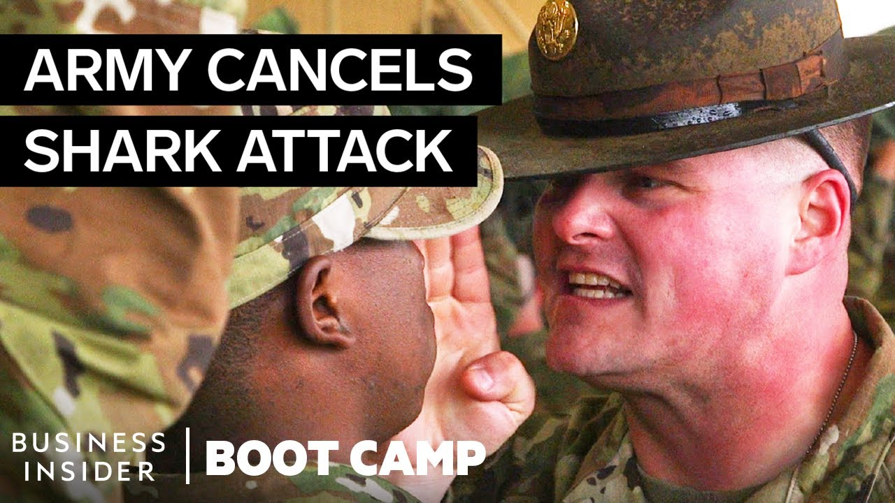 Why The Army Canceled The Intense 'Shark Attack' At Boot Camp | Boot Camp