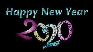 Happy New Year beautiful greetings card 2020 e card