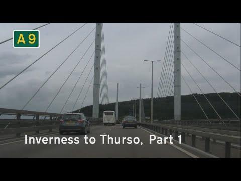 [GB] A9 Inverness to Thurso, Part 1: Inverness to Dornoch Firth Bridge