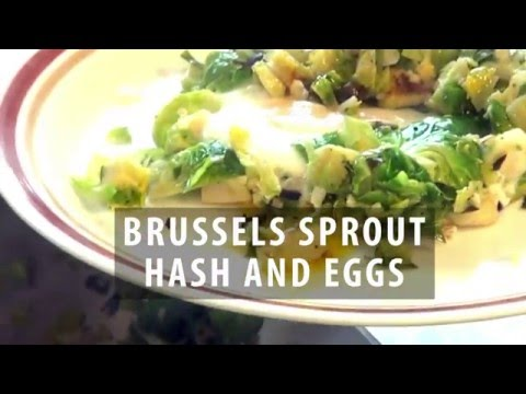 Brussels Sprout Hash and Eggs recipe