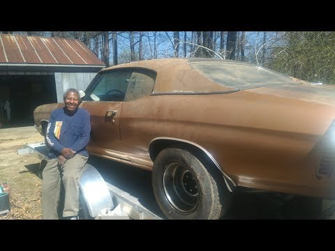 VIRGINIA MAN STRIKES GOLD WITH 1970 LS6 SS454 CHEVELLE THAT RUNS AFTER BEING PARKED 35 YEARS!!!