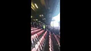 Liverpool fans vs West Ham - We Are Liverpool (Poetry in Motion)