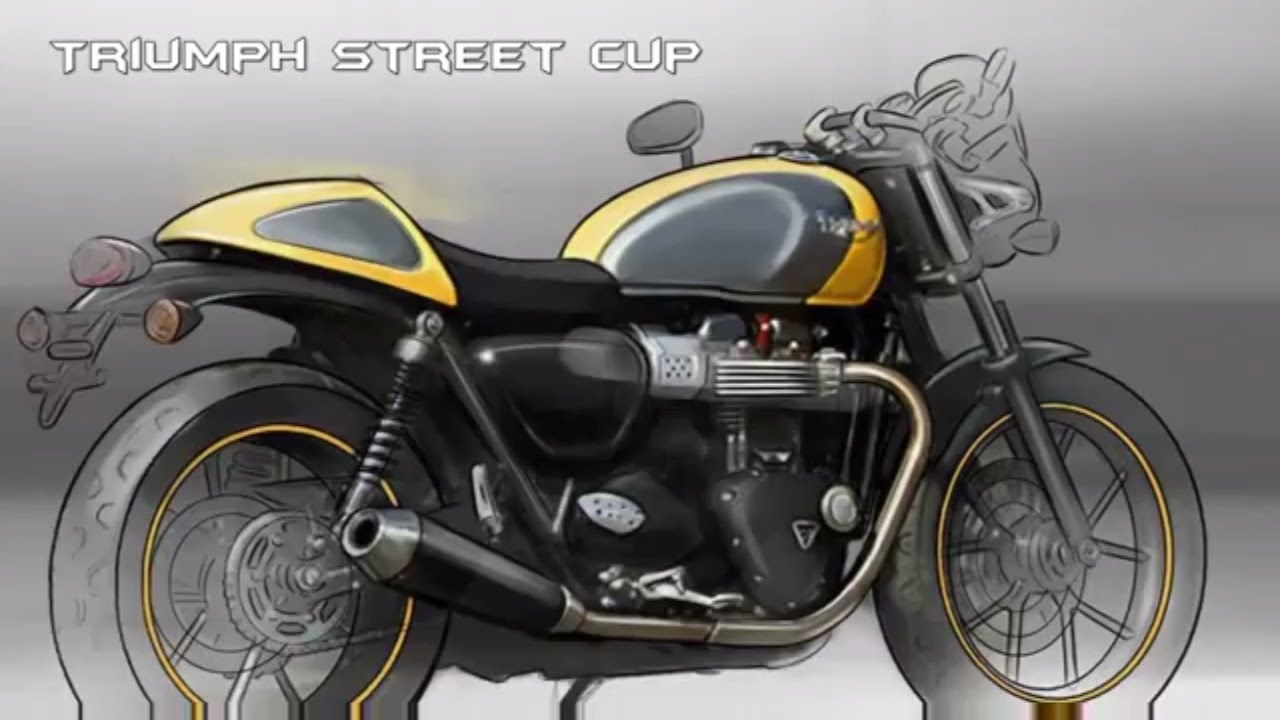 2017 triumph street cup : first look review - youtube