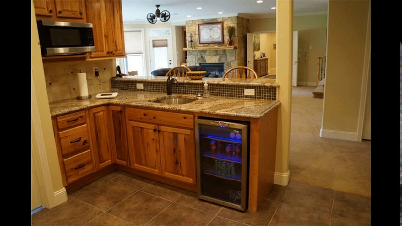 Small Basement Kitchen Design