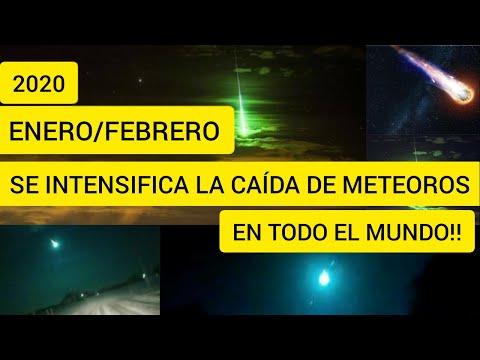 LLUVIA DE FUEGO SOBRE LA TIERRA || CAÍDA DE METEORITOS SE INCREMENTA EN TODO EL MUNDO