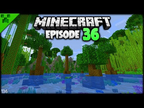 THE MINECRAFT JUNGLE LAKE OF LIFE! | Python's World (Minecraft Survival Let's Play S2) | Episode 36