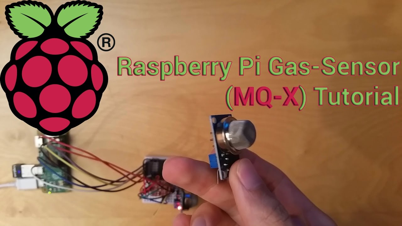 Configure and read out the Raspberry Pi gas sensor (MQ-X)