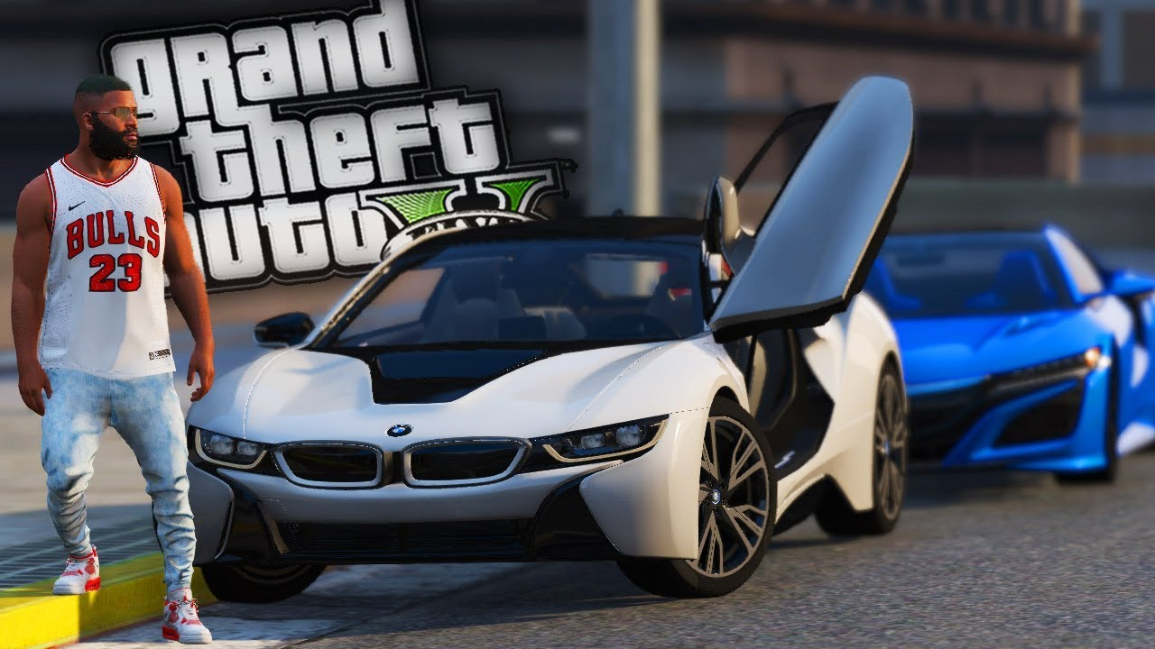 Buying Street Racing Franklins New Bmw I8 Gta 5 Real Hood Life