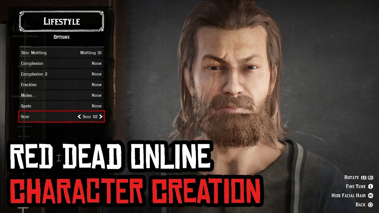 Red Dead Redemption 2 Online character creator: How to change your