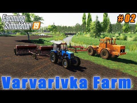 Recultivation grass field | Farming in Varvarovka | Farming simulator 19 | Timelapse #02 thumbnail