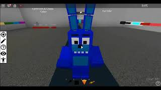 we become FNAF characters in ROBLOX!!!!!!!!!