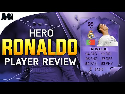 FIFA 16 HERO RONALDO REVIEW (95) FIFA 16 Ultimate Team Player Review + In Game Stats