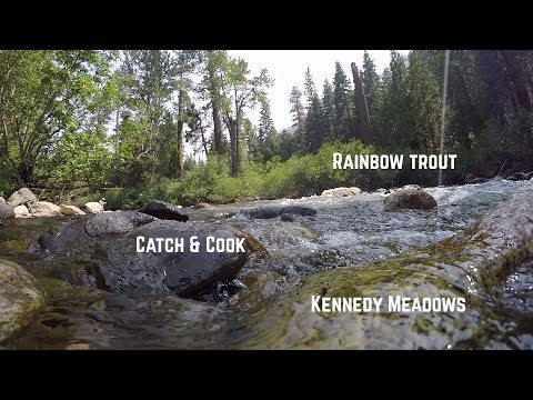 CATCH AND COOK: River Trout In The Mountains - Kennedy Meadows