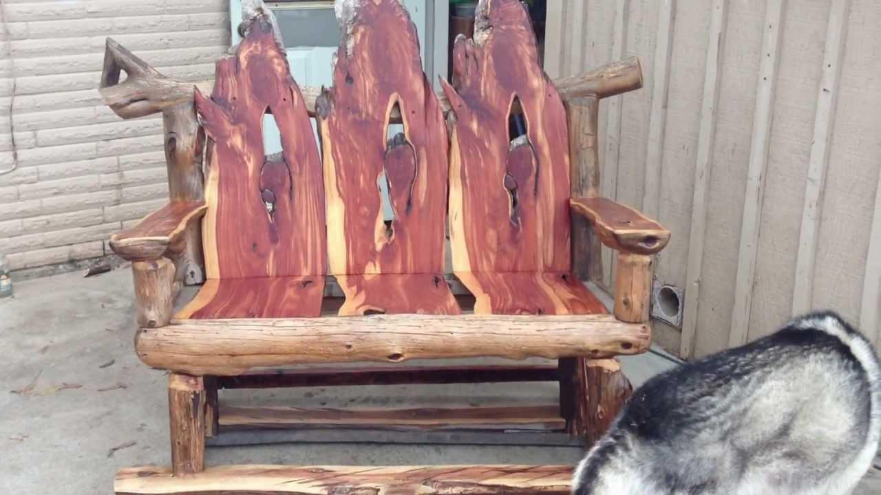 Superieur Custom Cedar Rocking Chair