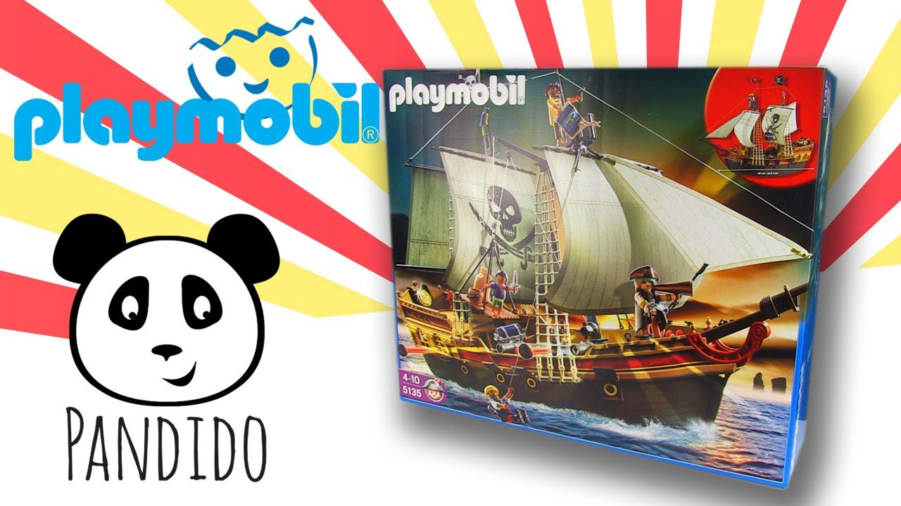 Playmobil piratas en espa ol barco pirata de ataque for Barco pirata playmobil
