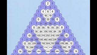Теория вероятностей. Треугольник Паскаля