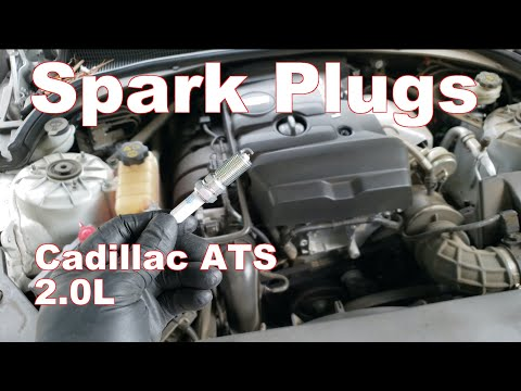 How to Replace Spark Plugs Cadillac ATS 2.0L