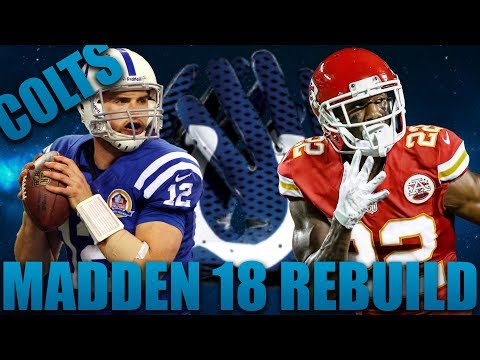 Rebuilding the Indianapolis Colts | Madden 18 Franchise 8 80 Ovr Rookies Drafted!!