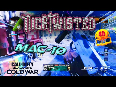 *NEW* MAC-10 TDM (Call of Duty: Black Ops Cold War) NICK TWISTED |