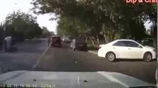Самые ужасные аварии на дороге 2013, car crash compilation 2013