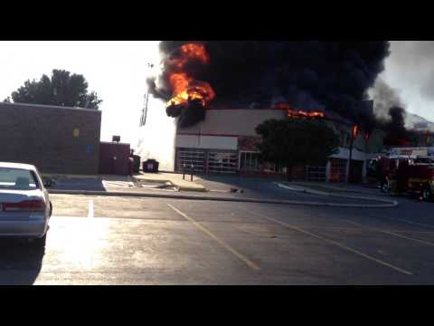 Hibdon Tire Store Fire, Norman Oklahoma August 25th 2013
