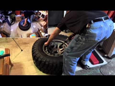 Upgrade! Hutchinson Beadlock Wheels and BFGoodrich Mud Terrain Tires.