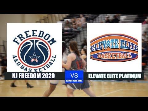Elevate Elite - Platinum vs NJ Freedom 2020