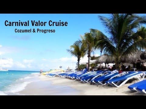 Carnival Valor Cruise - Cozumel & Progreso (plus Mr. Sancho's)