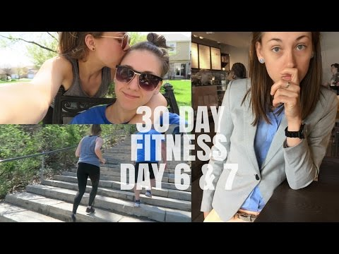 EASTER VLOG | 30 FITNESS CHALLENGE - DAY 6 & 7