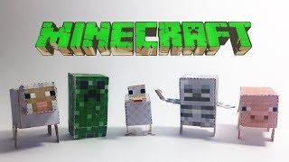 Animals in Minecraft
