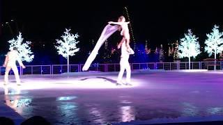 Рождество в США ледовое шоу Снег во Флориде 25.12.17 как американцы празднуют Рождество