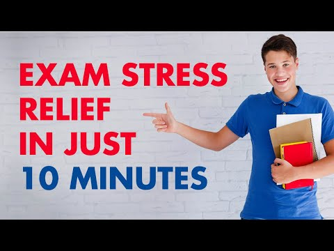 Exam Stress Relief  | 10 Minutes Guided Meditation To Increase Concentration & Focus
