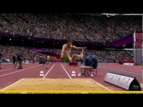 Radoslav Zlatanov long jump/Paralympic Games London 2012 bronze medal