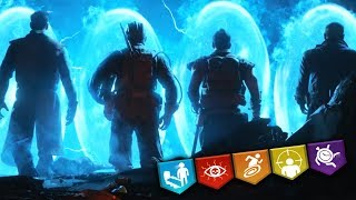 """BLOOD OF THE DEAD """"EASTER EGG"""" BOSS FIGHT RUN!! I'M SCARED. (Black Ops 4 Zombies)"""