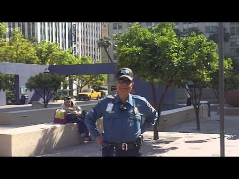 """""""I Have The Legal Right To Film"""" Amos Puts Pershing Security Guard on the Spot - Downstreet$"""