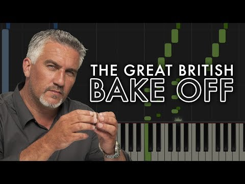 THE GREAT BRITISH BAKE OFF - Easy Piano Tutorial (Synthesia)