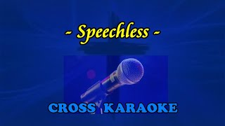 Speechless- Karaoke backing by Allan Saundes