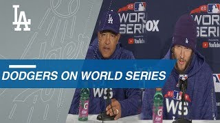 WS2018 Gm1: Kershaw, Roberts on anticipation for WS