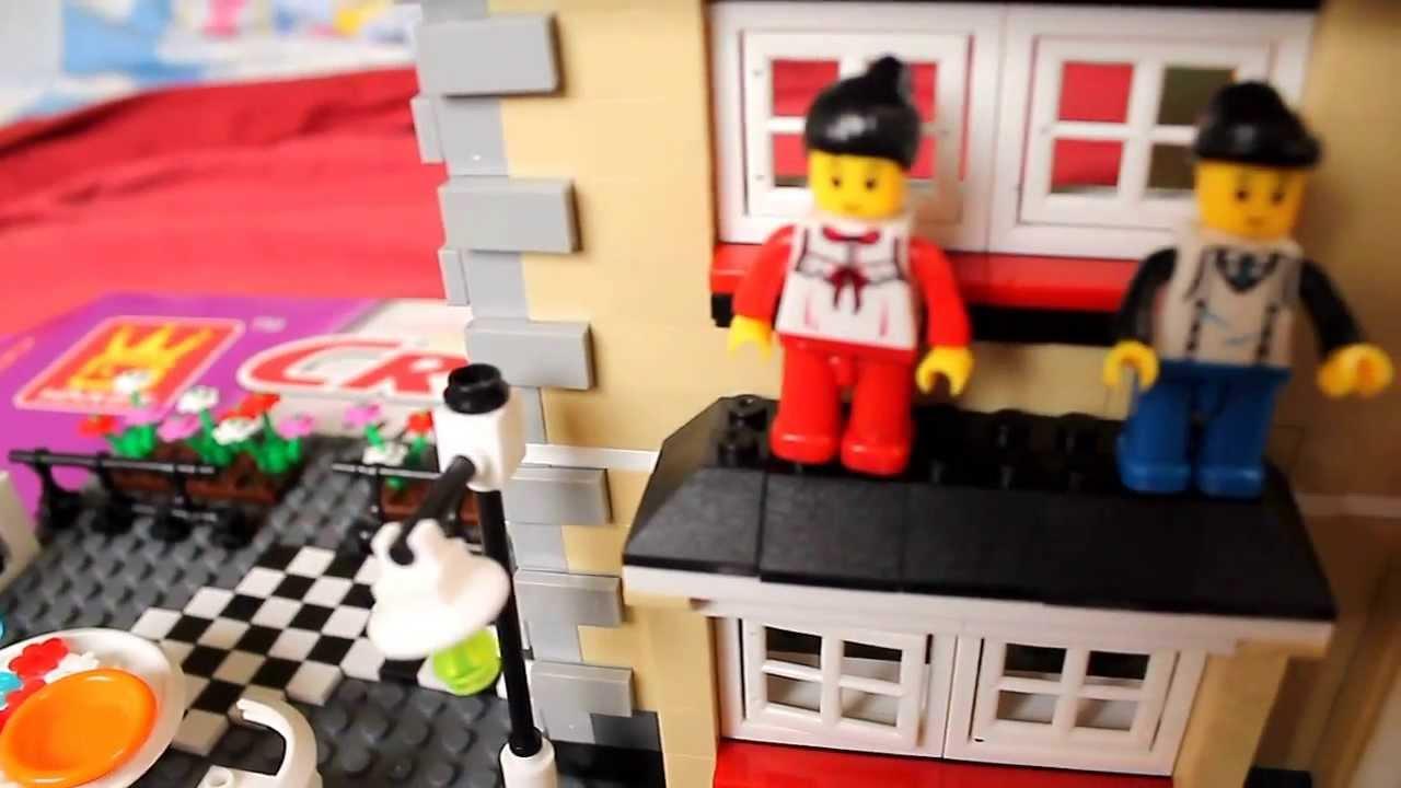 Lego Creation Villa Lego House 909 Pieces Youtube