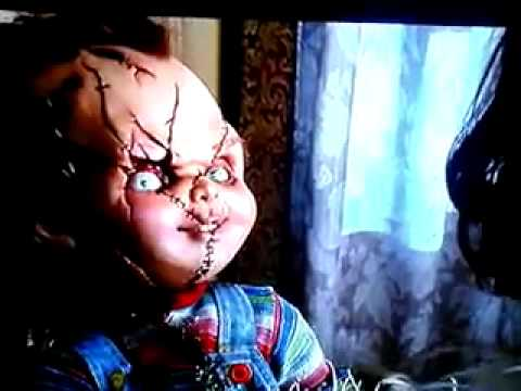 Bride of chucky hi I'm chucky and I wouldn't talk if i were you hi de ho.