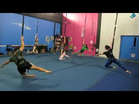 Bungee Fitness at Aerial Arts of Rochester