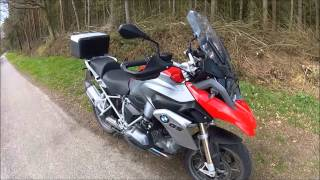 The New Bmw r1200gs 2013 Test Ride
