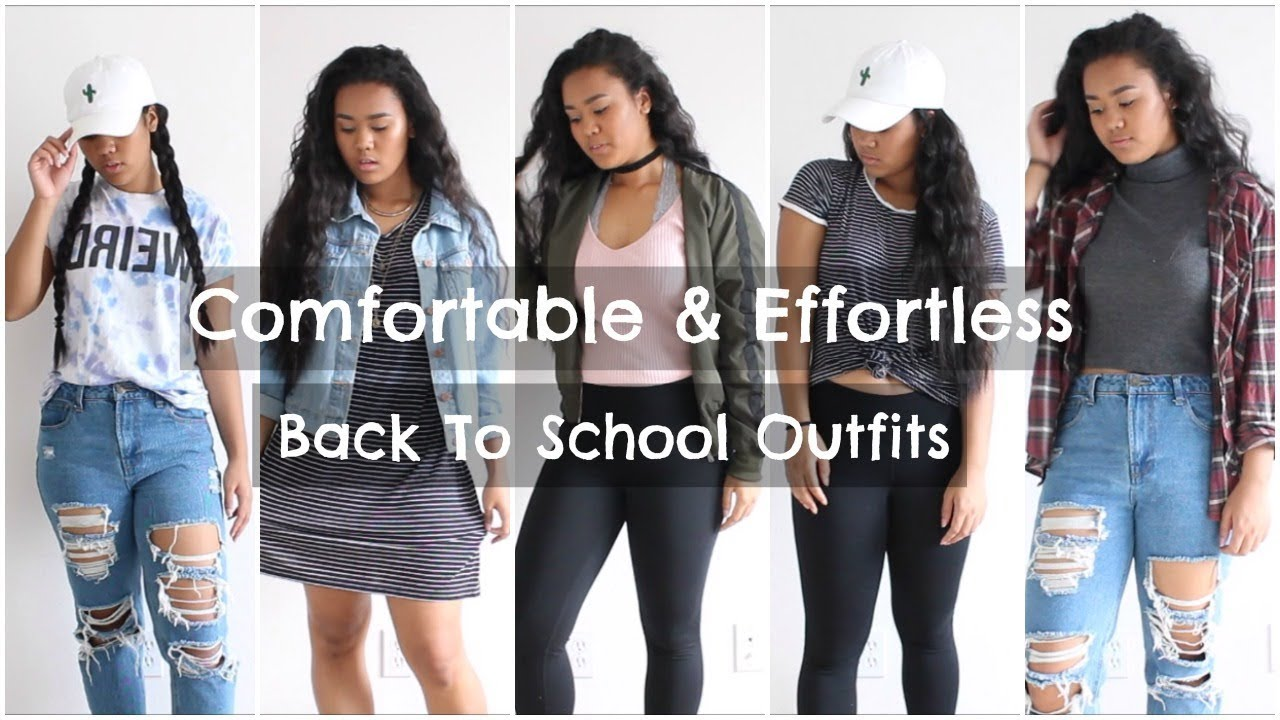 42dd7d7ed260 Back To School    5 Comfortable   Cute Outfit Ideas 2017