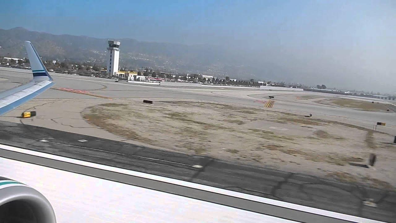 Alaska Airlines 737 800 Departing Burbank Youtube