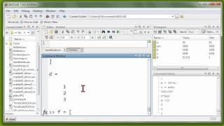 04 MATLAB (R), Teil 1, Rechnen mit Zahlen, Variablen, Vektorrechnung, Plots