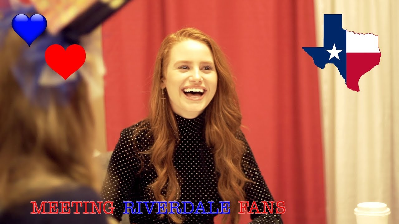 Riverdale Goes To Dallas Madelaine Petsch Youtube