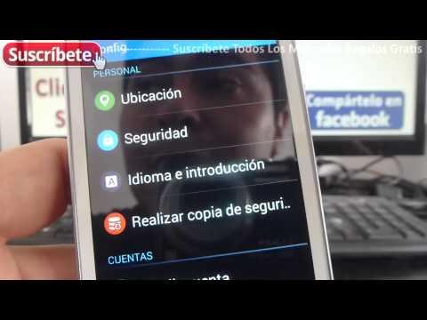 Samsung Galaxy Ace 4 Lite Duos restaurar de fabrica SM-G313ML/DS español