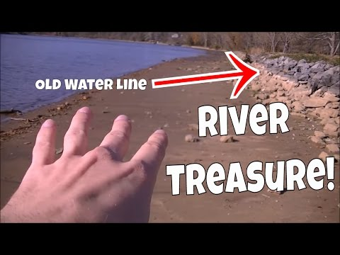 Thumbnail: RIVER TREASURE! Metal Detecting Narcotics Anonymous Medallion, Coins, Live Digs & More!