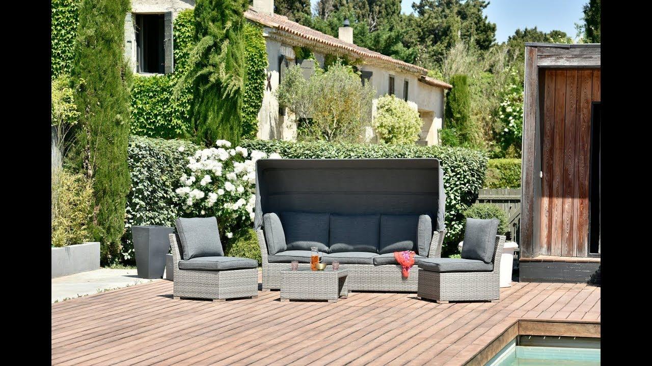 OOGarden - Salon bas de jardin modulable Chypre