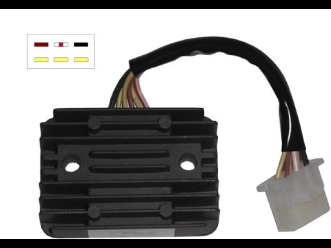 Motorcycle Battery Charging System Explained - YouTube